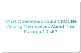 What Questions should CROs Be Asking Themselves About The Future of Risk?